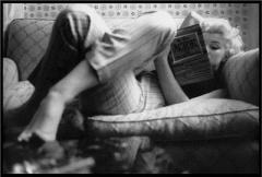 Marilyn Monroe, Avid Reader (Taken from booktryst.com)