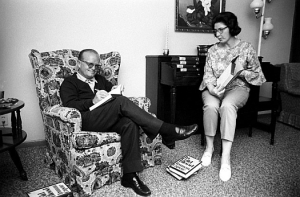 Truman Capote and Harper Lee