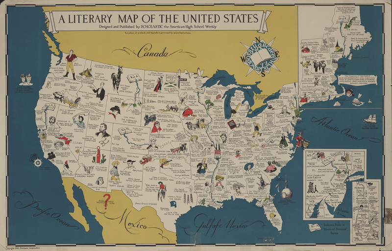 Six State Literary Tour Authors Homes Museums Things To Do - Map of museums in the us