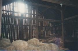 Hay Loft in 1919 Gettysburg Barn, by Janet Weeks