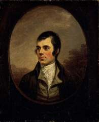 Robert Burns, 1759-1796, Poet, by Alexander Nasmyth