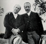 Henry James and his brother William, called The Father of American Psychology