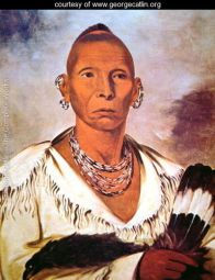 Black Hawk  by George Catlin