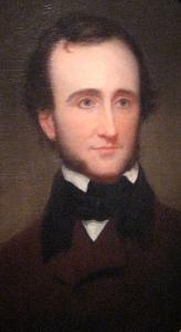 Edgar Allan Poe, portrait by Samuel Stillman Osgood
