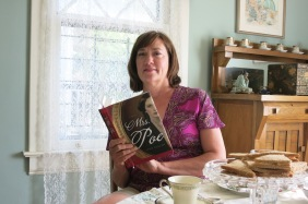 Lynn Cullen takes tea and shares insights into Mrs. Poe.