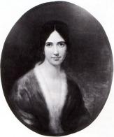 Frances Sargent Osgood, portrait by Samuel Stillman Osgood