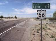 """""""Shadows of Old Route 66,"""" Guy Randall"""