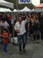 Ross Ufberg at the Brooklyn Book Festival