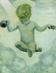 """The Infant Jesus"" by Salvador Dali"