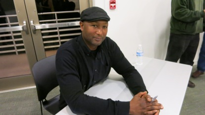 T. Geronimo Johnson signs his new novel at Georgia Center for the Book event.