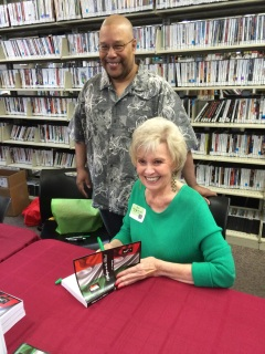 Sue Montgomery at Local Author's Collection Signing at the Henderson, NV Library
