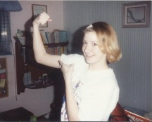 No wonder so many children wanted to challenge me. I was such an obviously fearsome 14 y.o.