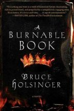Burnable book cover