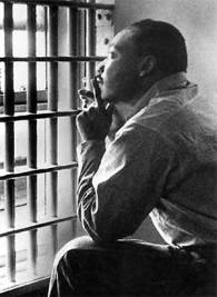 Martin Luther King, Jr. in the Birmingham Jail (history.com)