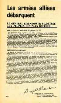 A letter to the French people from General Eisenhower (psywarrior.com)