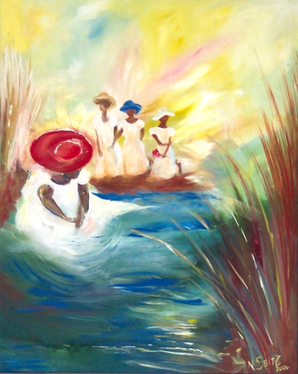"""""""Wade on the Water"""" by Nicole Seitz"""
