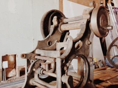 The Original Book Machine: The1890 Chandler and Price Letterpress