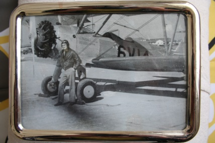 Ginny's husband, Joe, who wanted nothing more than to be a pilot during WWII