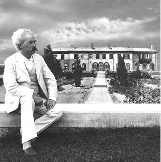 Samuel Clemens at Stormfield, his last home.