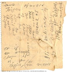 Emily Dickinson Poem Fragment (emilydickinsonmuseum.org)