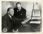 Composer J. Rosamond Johnson with his brother poet James Weldon Johnson. ASCAP (wikipedia.org)