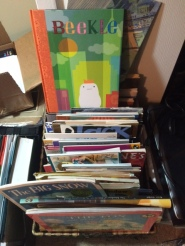 My collection of Caldecott winners.