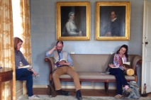 Silent Reading at the Loring-Greenough House. Photo: Barbara Rhodes. Courtesy JP Reads.