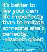 E Gilbert Quote