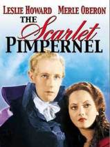 Poster for Alexander Korda's 1934 film version of The Scarlet Pimpernel