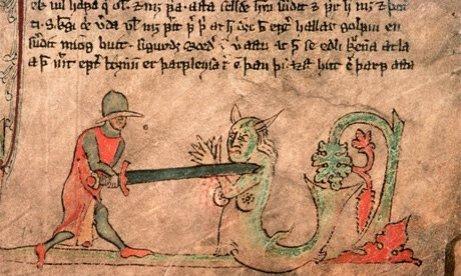 A 13th-century illuminated Icelandic Saga manuscript. Photograph: Bob Krist/Corbis (theguardian.com)