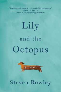 lily-and-the-octopus- with Garth stein quote