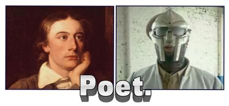 Keats and MF DOOM