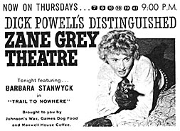 TV Guide's as for the Zane Grey Theatre (westernclippings.com)