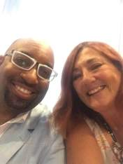 Janet and Newberry prize winning author Kwame Alexander