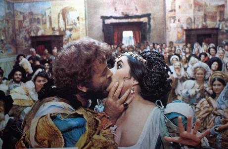 The Taming of the Shrew, 1967, starring Richard Burton and Elizabeth Taylor
