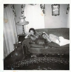My Baube and Zayda in my father's childhood home on Catterlin St. in Salem, OR