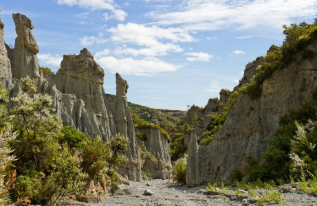 Putangirua Pinnacles, locale for the Dimholt Road (doc.govt.nz)